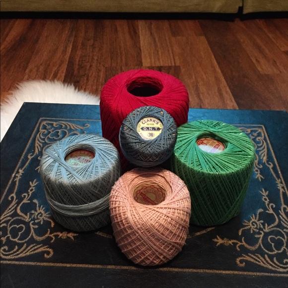 🦋2/$10 3/$15 4/$18 5/$20 Vintage Thread Set